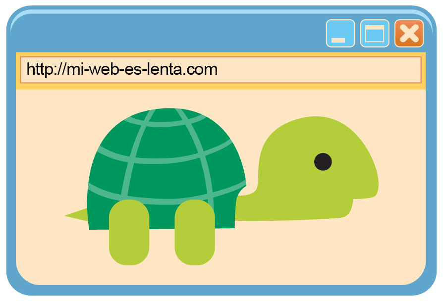 tu web es muy lenta